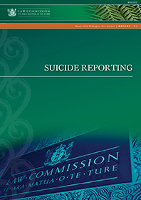 R131 Suicide Reporting - Cover